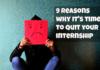 quit your internship